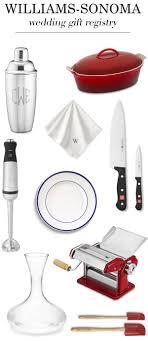 Gift Kitchen Williams Sonoma Wedding Registry For Foodies Junebug Weddings