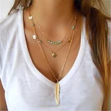 2018 New Hot <b>Fashion Round Sequins</b> Feather Leaves Long ...