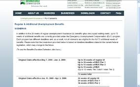 Edd Benefits Chart Will Euc Be Extended In 2013 Finished Extension Claim