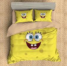 SpongeBob SquarePants Duvet Cover Set | Cartoon Duvet Cover Set ... & SpongeBob SquarePants Duvet Cover Set Adamdwight.com