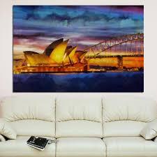 sydney canvas large art painting