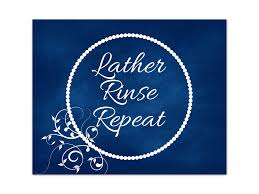 lather rinse repeat bathroom quotes wall art navy bathroom decor bathroom canvas bathroom wall art prints guest bathroom decor bath213 on bathroom wall art prints with lather rinse repeat bathroom quotes wall art navy bathroom decor