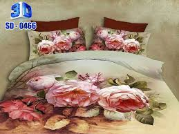 Sheet Online 3d 0466 Cotton Satin Bed Sheet