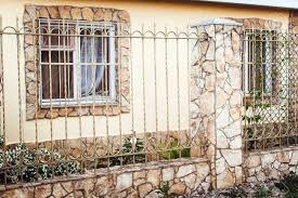 Modern Iron Fence Designs Metal Decorative Fence With Door And Gate Of Modern Style Design