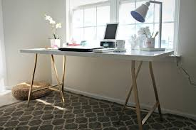 ikea tables office. Ikea Hack My Office Desk Shannon Claire Tables