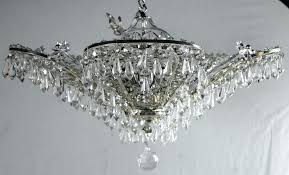 large size of modern crystal bead shade chandelier a set of four circa french silver plated