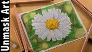 <b>Daisy Flower</b>   <b>Colored</b> Pencil Drawing Time Lapse - YouTube