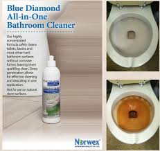 All In One Bathroom Norwex Blue Diamond Cleaner Vs Rust Before And After Norwex