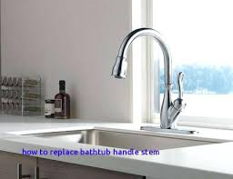 replace delta faucet stem how to repair a delta faucet how to replace bathtub handle stem