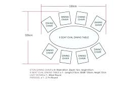 dining tables 8 seater dining table size 6 rectangle glass top seating normal dimensions fantastic