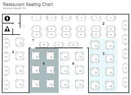 Free Restaurant Seating Chart Maker Restaurant Seating Layout Bombona Co