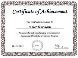 Best Performance Award Certificate Outstanding Performance Award Template Hostingpremium Co
