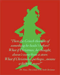 the grinch who stole christmas quotes. Perfect The Dr Seuss Grinch Stole Christmas Quote Silhouette To The Who Quotes A