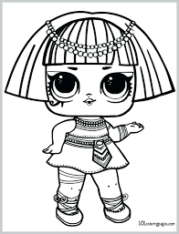Lol Surprise Coloring Pages Unicorn Doll Coloring Pages Within Dolls