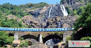Image result for image of  GOA WATER FALL