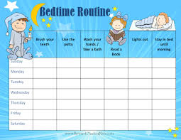 daily potty training chart 10 best images of disney routine chart bedtime routine chart