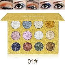 <b>Glitters</b> Eyeshadow Palette, Spdoo <b>12 Colors Professional</b> Makeup ...