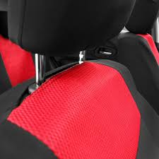 2 color 10pcs universal car seat cover set headrest for 4 seasons cars covers with tire track