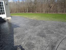 Creativity Stained Concrete Patio Gray E With Modern Ideas