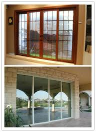 2017 design aluminum double glass sliding door