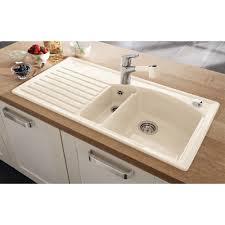 White Enamel Kitchen Sinks Ceramic White Kitchen Sink 11675