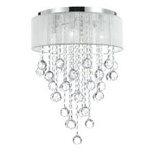 chandelier with white shade flush mount 4 light chrome chandelier with white shade off white chandelier