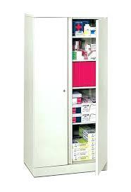 Metal Storage Cabinet Alluring Metal Storage Cabinet Hon Inch Tall