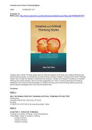 Best     Critical thinking ideas on Pinterest   Critical thinking     SP ZOZ   ukowo critical thinking  test questions  student led instruction