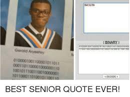 Good Senior Quotes