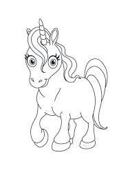 Stampa Lunicorno Da Colorare Disegni Da Colorare Unicorno