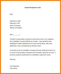 Sample Of Letter Of Resignation Extraordinary 48 Format For A Resignation Letter Pulsefitseattle