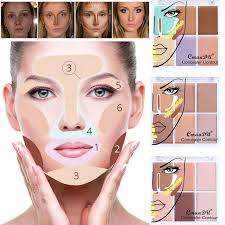 cmaadu concealer contour palette face powder and concealers make up palettes contouring makeup to cover dark circles acne concealer or foundation
