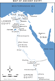 map of ancient egypt (bible history online) Egypt History Map map of ancient egypt (enlarge) (pdf egypt history podcast