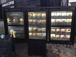 Drive Thru Vending Machine Unique Drive Thru Menu Board Picture Of Starbucks Marietta TripAdvisor