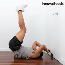 Innovagoods Doorway Sit Up Bar With Exercise Guide