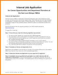 Internal Resume Resume For Your Job Application