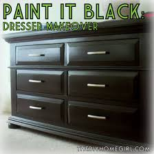 black painted furniturePainting old bedroom furniture black  Video and Photos