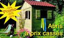Abris de jardin, Abri bois, promotion, destockage