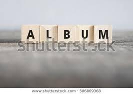 Album Word Album Word Made Building Blocks Stock Photo Edit Now 586869368