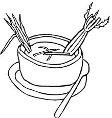 Soup Can Coloring Page Cannonball Cute Stone Story Pages Campbells