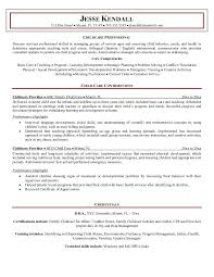 child care sample resume child care objective resume examples  wwwisabellelancrayus pretty junior accountant resume example free