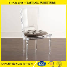 customized factory directly elegant clear acrylic lucite dining chair
