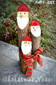 diy santa logs these are the best homemade decorations craft ideas