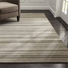 lynx grey textured wool rug crate and barrel in striped area rugs intended for idea 4