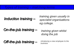 On Job Training Objectives Learning Objectives To Understand The Meaning Of Training To Learn