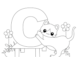 Alphabet Coloring Pages Coloring Pages Of The Alphabet Letters