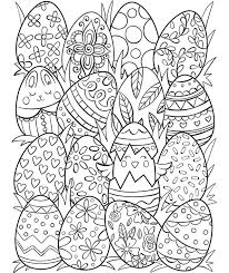 Egg coloring pages that parents and teachers can customize and print for kids. Easter Eggs Surprise Coloring Page Crayola Com