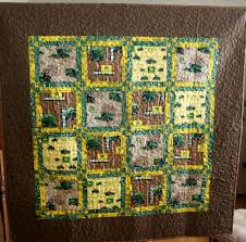 John Deere Tractor Quilt | Ideal Stitches Longarm Quilting ... & Share this: Adamdwight.com