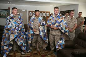 How to Start a Quilt Guild   FeltMagnet & Quilt guilds often donate quilts to wounded soldiers. Adamdwight.com