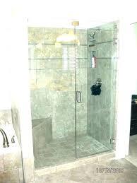 frameless shower doors cost of glass shower door with menards shower frameless glass shower doors cost